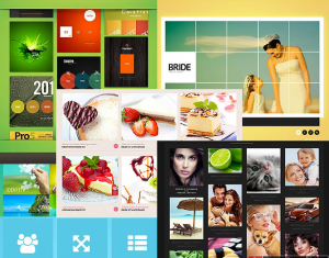 Wordpress Image Hover Plugin Responsive Grid